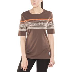 Aclima W's DesignWool Marius Merino T-Shirt Fondue Fudge